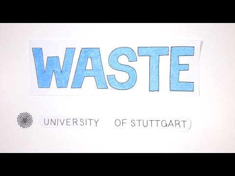 MSc WASTE program at the University of Stuttgart