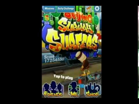 Subway Surfers Beijing Hack For Iphone Ipad Ipod (NO JAILBREAK )