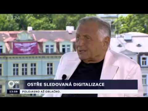 Nadace české bijáky - Otázky Václava Moravce s Jiřím Menzelem 6.7.2014
