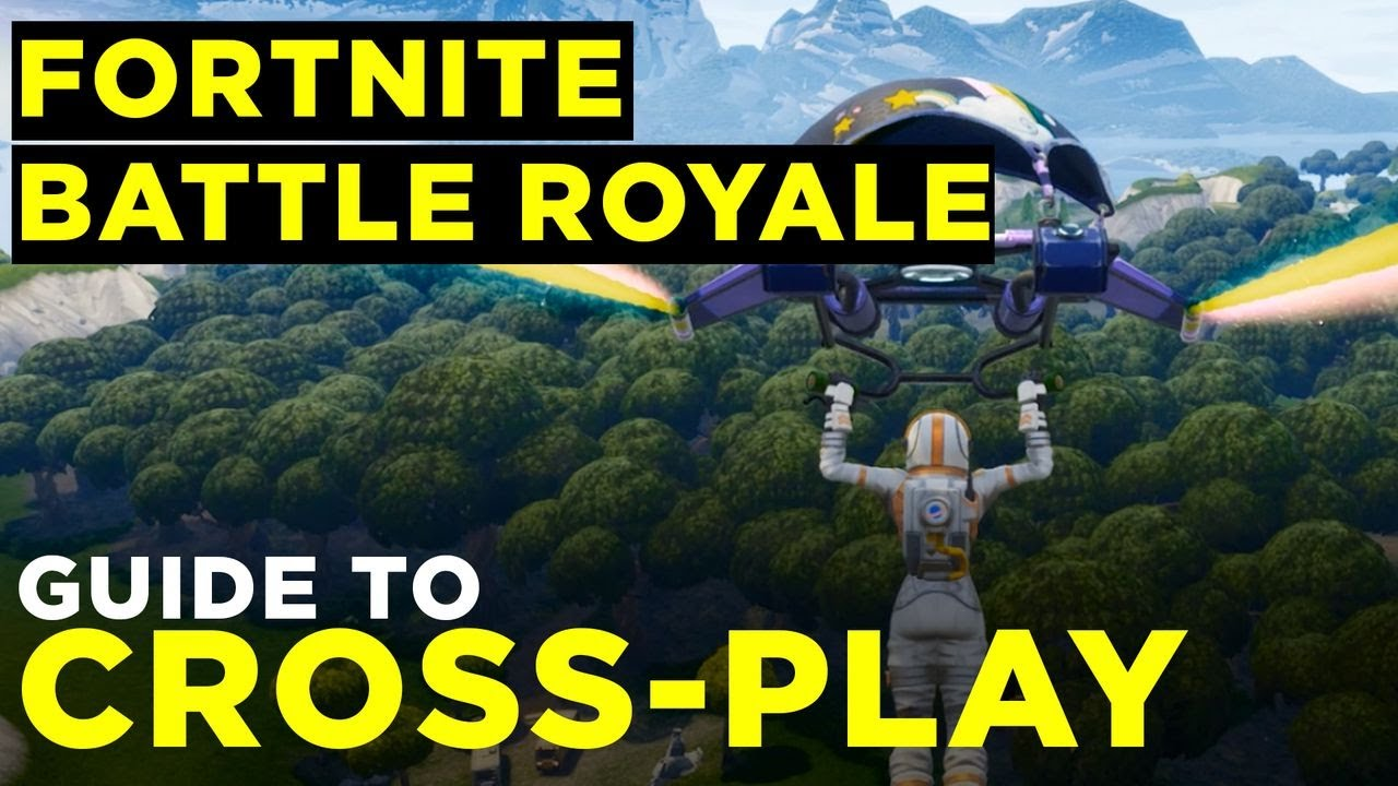 Fortnite Cross-Platform Crossplay Guide for PC, PS4 and Xbox One