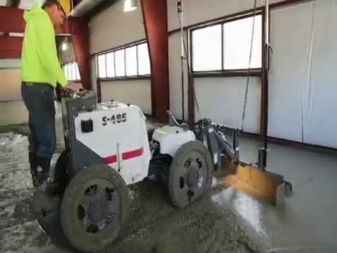 Somero S Latest Innovation The S 485 Laser Screed Model