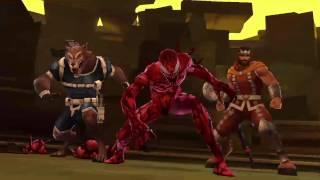 Marvel Future Fight- Ultimate World Boss Mode - Carnage vs Proxima Midnight -  [ Tier 1 Strikers ]