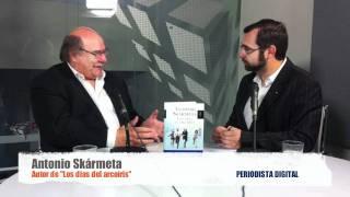 """Periodista Digital entrevista a Antonio Skármeta, autor de """"Los días del arcoíris"""" - mayo 2011-"""