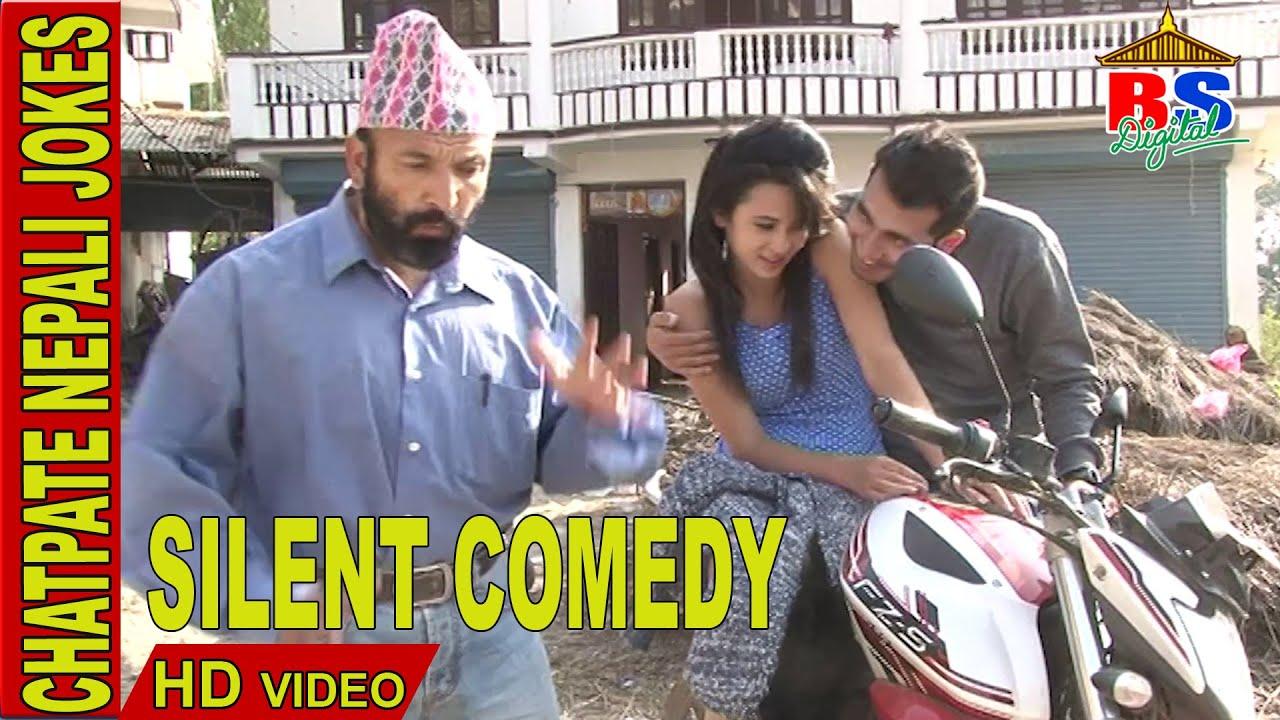 Silent Comedy || Chatpate Nepali Jokes - YouTube
