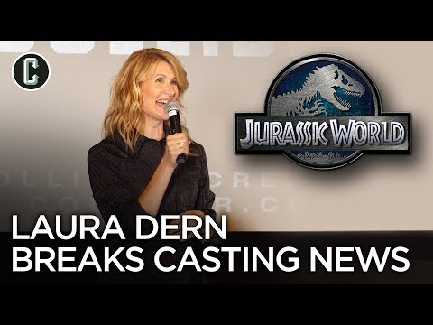 Jurassic World 3: Watch Laura Dern Reveal Her Big Casting News