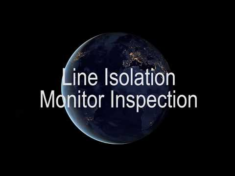 Line Isolation Monitor Inspection Isolated Power System California Los Angeles Orange County Inland