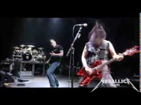 James Hetfield on stage with Machine Head (PART 1) + Rehearsal (2009)