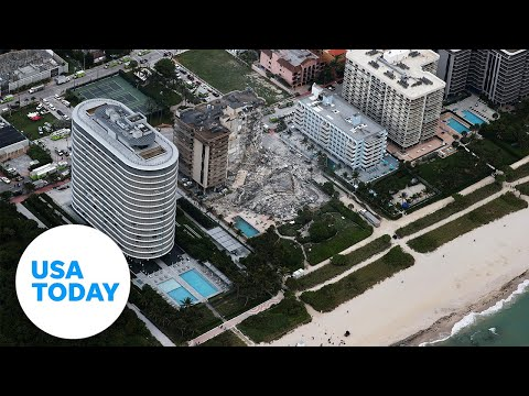 Miami officials hold news conference after building collapse | USA Today