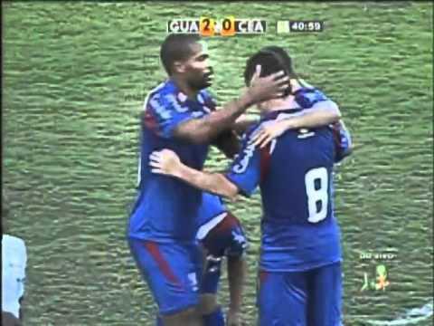 Guaratinguetá 2 x 1 Ceará - Gols - Campeonato Brasileiro Série B 2012 [26/05/12]