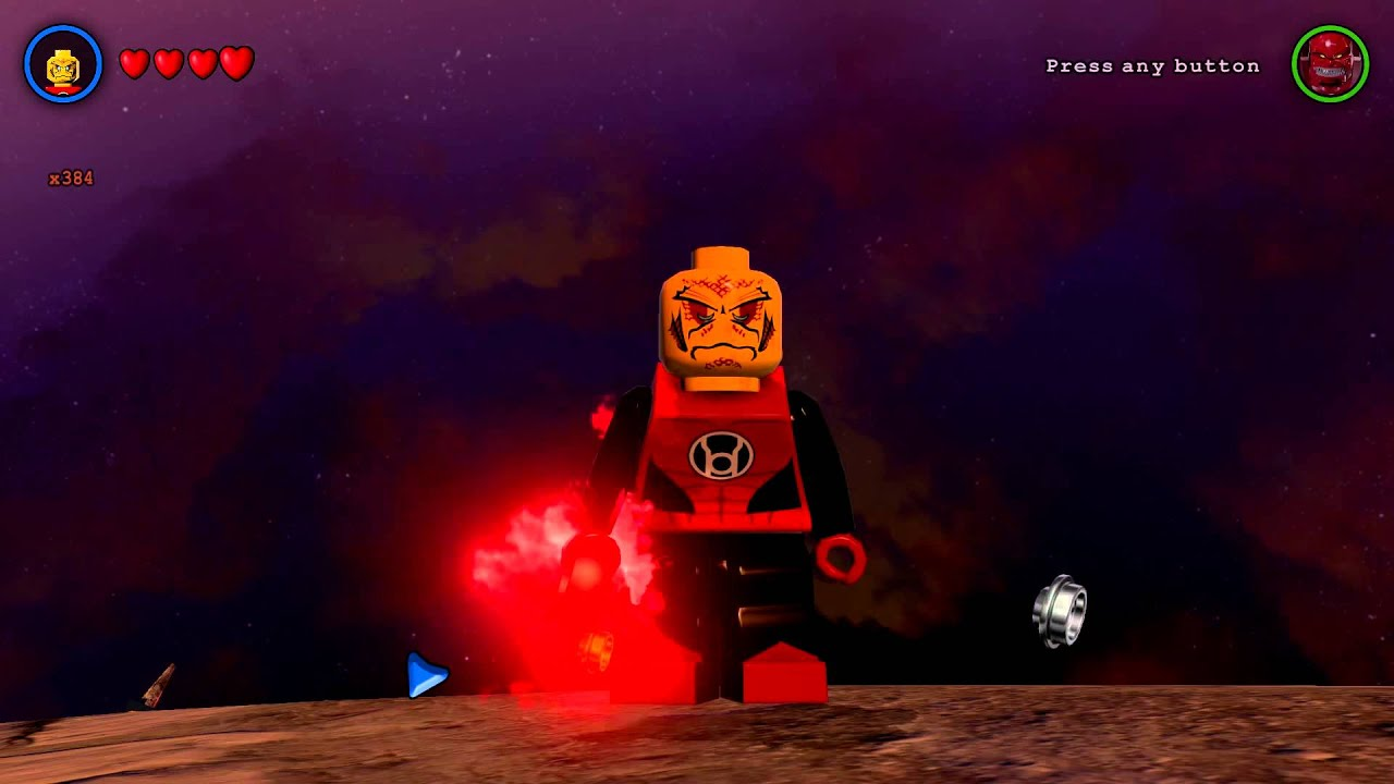 LEGO Batman 3: Beyond Gotham - Red Lantern Warrior ...