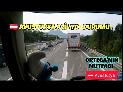 AVUSTUR'YA ACİL YOL DURUMU - ORTEGA'NIN MUTFAĞI ALP DAĞLARI
