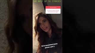 Chiara Nasti instagram stories 24 October 2018