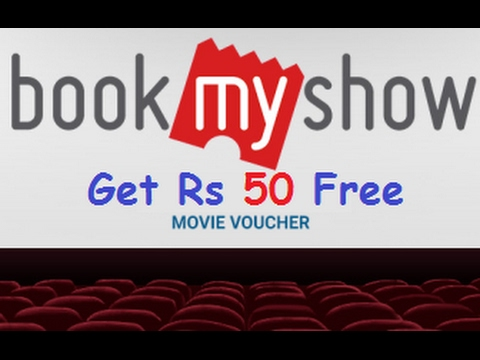 Get Rs 50 In BookMyShow App And Book Movie Ticket Free