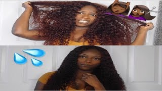 HOW TO REVIVE UNICE CURLY HAIR | WASH AND GO ROUTINE