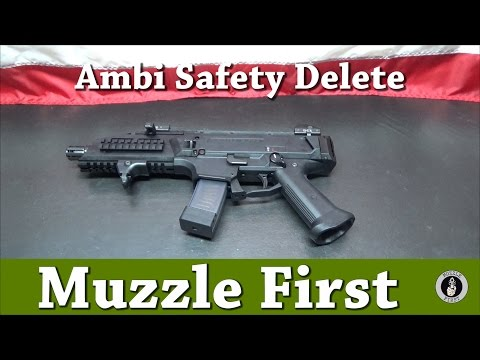 CZ Scorpion EVO 3 S1 Ambi Safety Delete