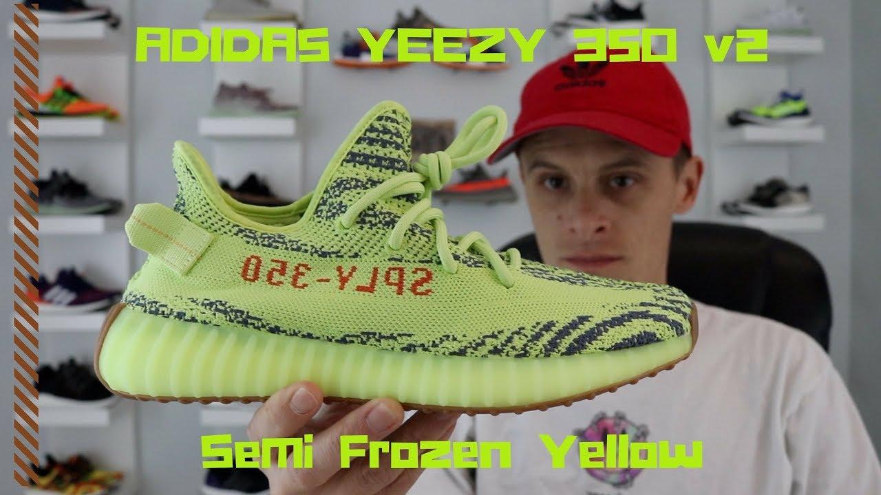 ADIDAS x YEEZY 350v2 Semi Frozen Yellow