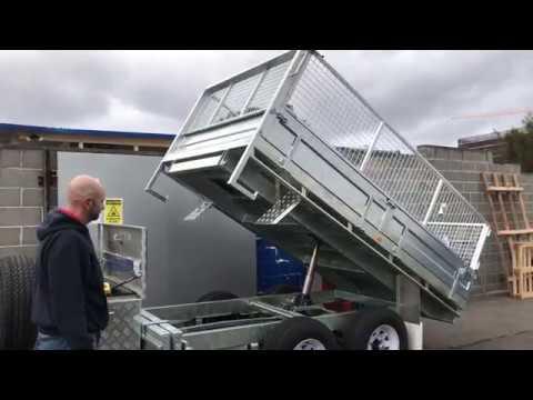 Hydraulic Tipper Trailer