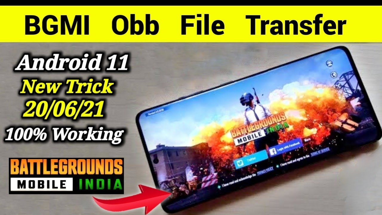 BGMI OBB Problem Solved Android 11 😀😀 | Obb Android 11 |   Problem Solved 100%