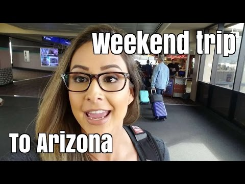 First travel vlog to Phoenix Arizona