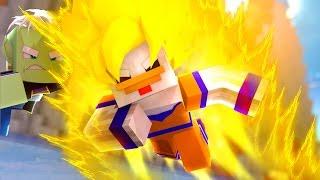 Minecraft: DRAGON BLOCK C SUPER ONLINE - PODER SAIYAJIN  ‹ Frango ›