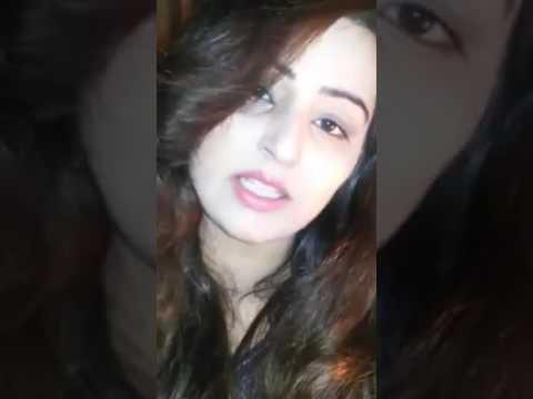 Beautiful Girl Saying Shayari Youtube