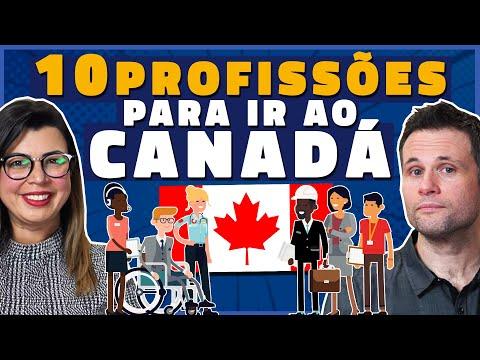 10 MELHORES PROFISSÕES PARA CONSEGUIR OFERTA DE EMPREGO NO CANADA