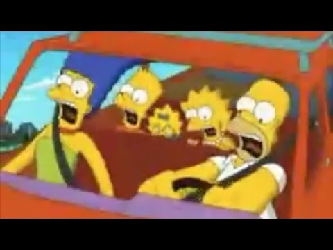 Vintage  The Simpsons Ride TV Commercial  Universal Orlando Resort 2008