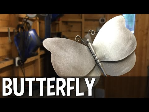 How To Make A Metal Butterfly