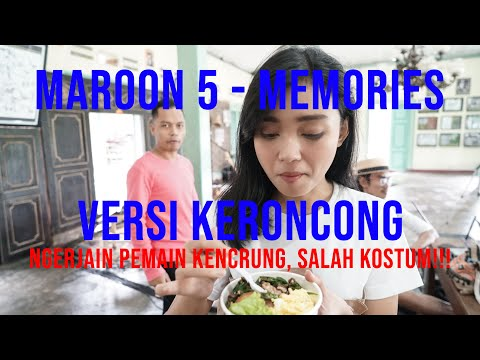 MAROON 5 - MEMORIES ( VERSI KERONCONG ) COVER BY REMEMBER ENTERTAINMENT