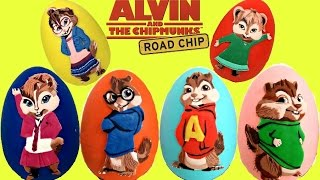 Alvin and the Chipmunks Play-Doh Eggs with The Chipettes | Toys Unlimited