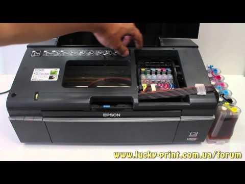 Принтер Epson не определяет (не видит) картриджи СНПЧ ...