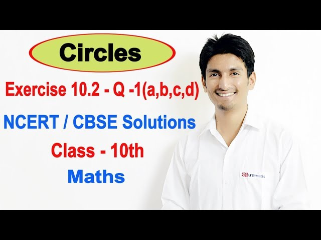 Exercise 10.2 - Question -1 - Circles  - NCERT/CBSE Solutions || class 10th maths ||  Truemaths
