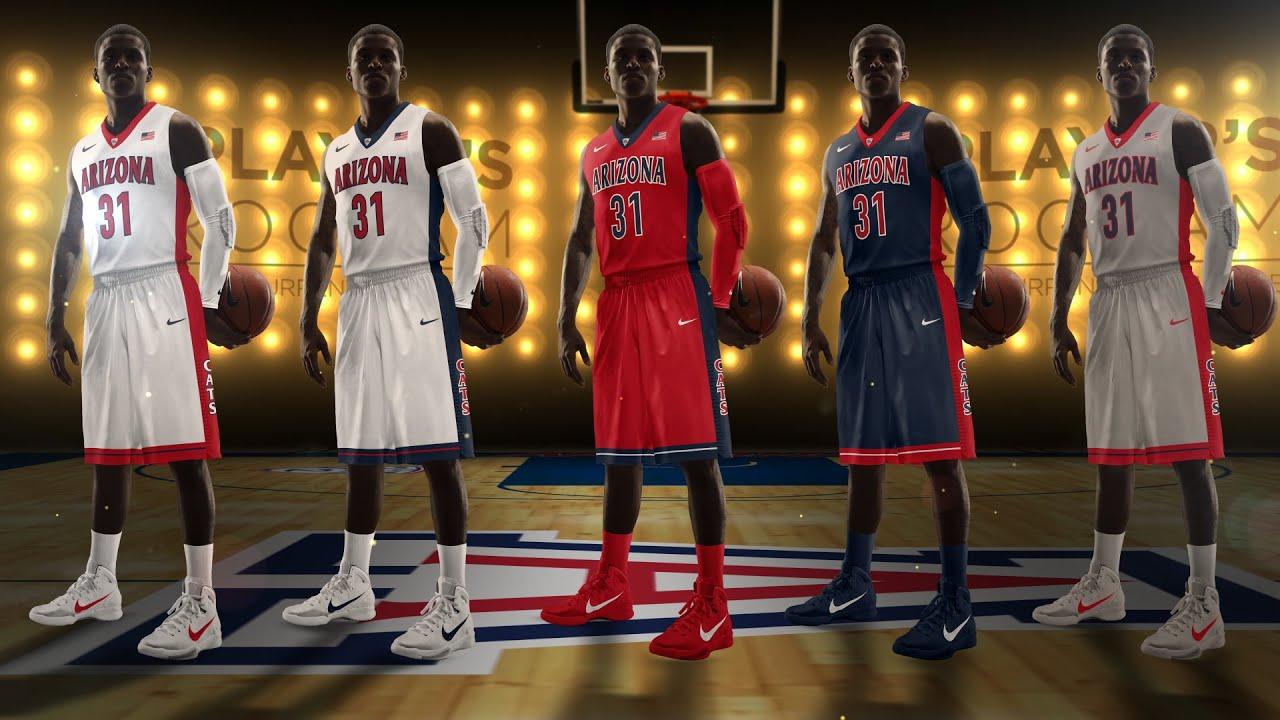 Arizona Basketball New Uniform Reveal - YouTube 1473e185f