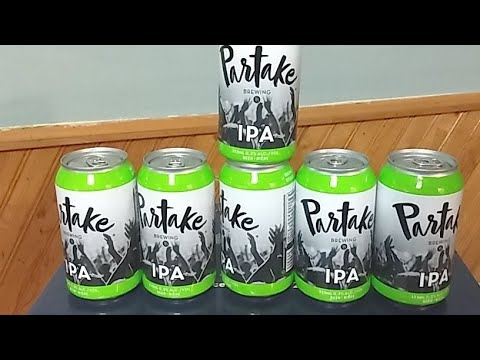 Partake Brewing IPA : Albino Rhino Non Alcoholic Review