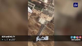 إخلاء وتأمين 3500 سائح من سيول داهمت لواء وادي موسى والبترا - (9-11-2018)