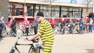Graveeractie tegen fietsendieven in Etten-Leur