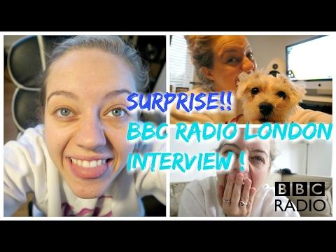 SURPRISE BBC RADIO LONDON INTERVIEW!!