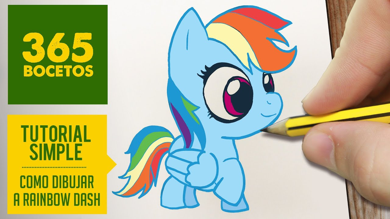 Equestria Girls Android Wallpaper Como Dibujar A Rainbow Dash Paso A Paso Dibujos Kawaii