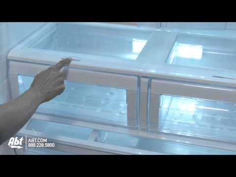Samsung RFG237l French Door Bottom Freezer Refrigerator...