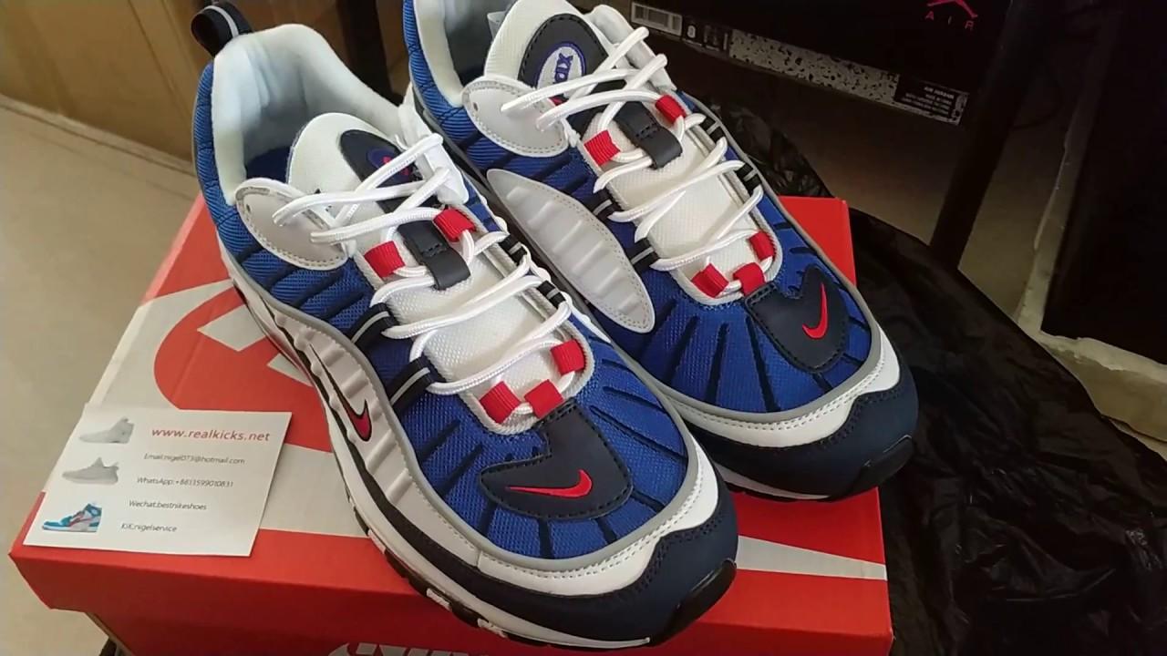 Nike Air Max 98 640744-064 - YouTube 323cc179e201