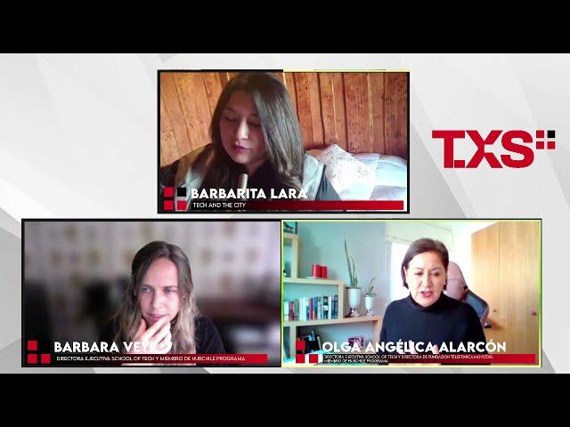 Barbarita Lara en Tech And The City en TXSPlus.com