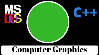 HOW TO DRAW CIRCLE AND COLOR IT IN C++ (COMPUTER GRAPHICS)