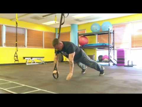 TRX Freestyle Friday - Single Arm Hinge to Push-Up Functional Exercise