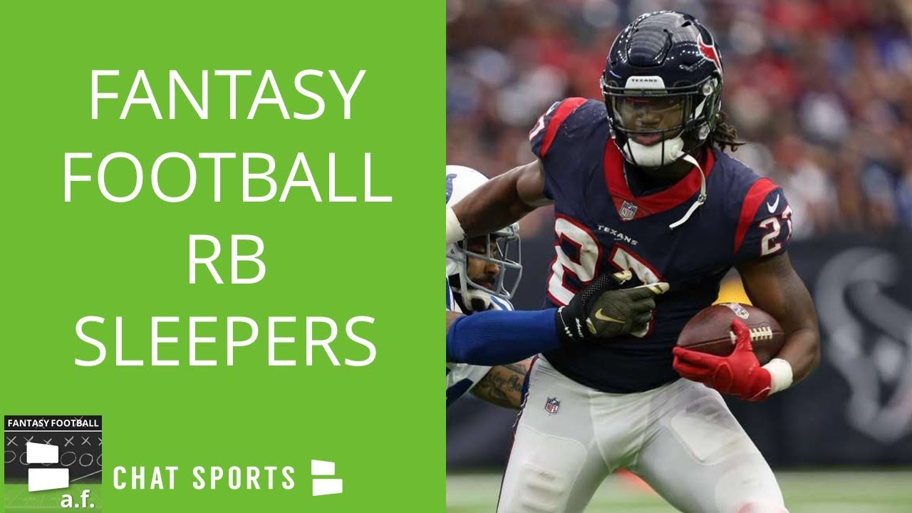Fantasy Football 5 Running Back Sleepers To Target In 2018 Drafts