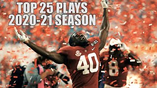 Top 25 Plays Of The 2020-21 College Football Season ᴴᴰ