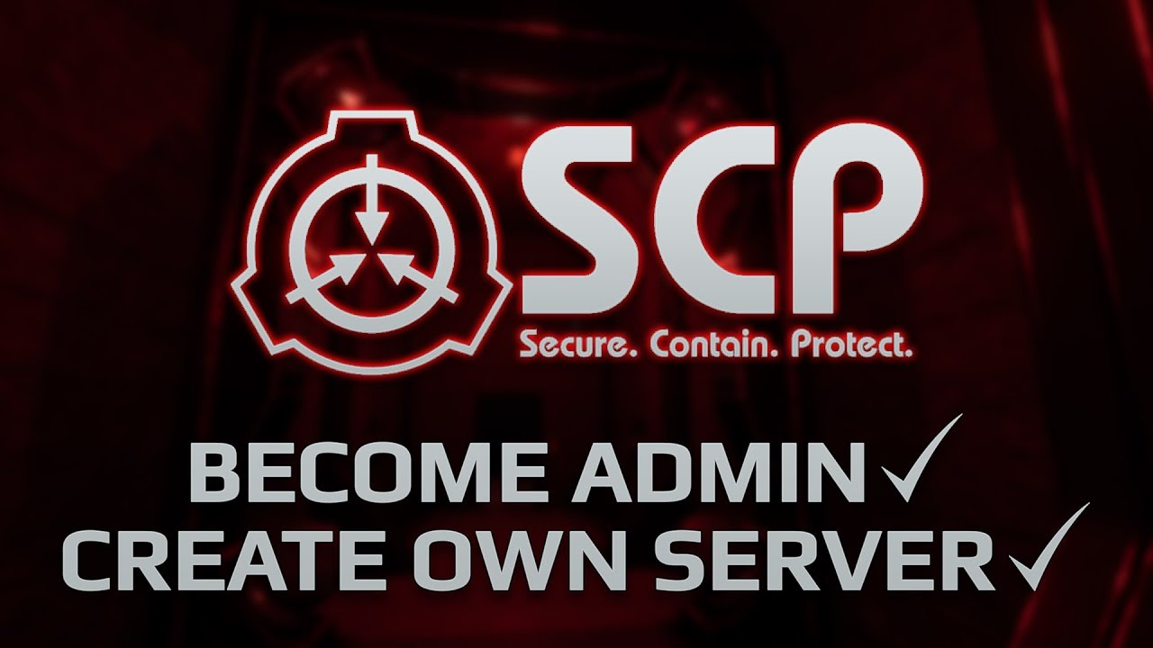 Become Admin on your SCP: Secret Laboratory Server!