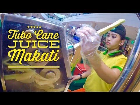 Tubo Sugar Cane Juice Glorietta Makati Metro Manila Philippines
