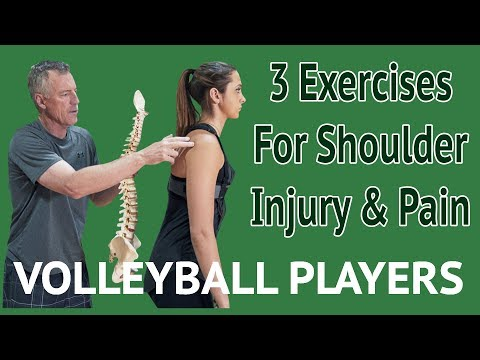 3 Steps to Fix Shoulder Pain or Injury Volleyball Players