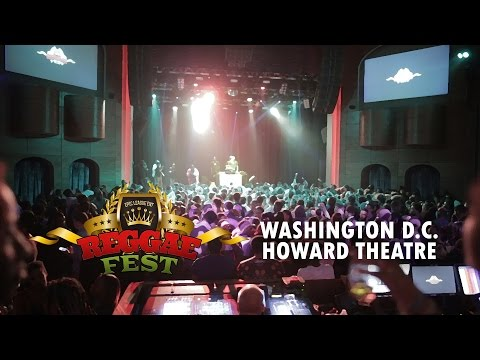 REGGAE FEST DC - HOWARD HOMECOMING OCT 3RD AT THE HOWARD THEATRE