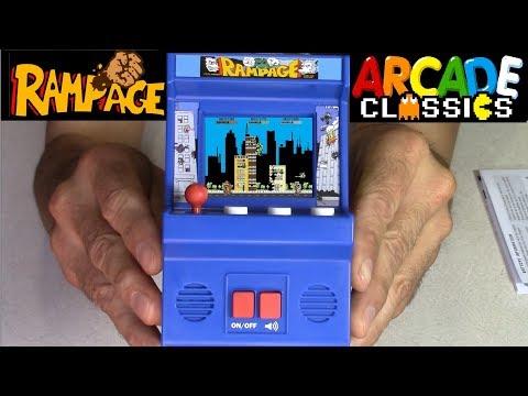 RAMPAGE Arcade Classics mini arcade for $20 any good ?